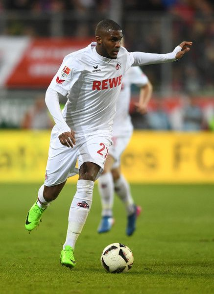 Anthony Modeste of 1. FC Koeln in action during the Bundesliga match between FC Ingolstadt 04 and 1. FC Koeln at Audi Sportpark on March 11, 2017 in Ingolstadt, Germany. - FC Ingolstadt 04 v 1. FC Koeln - Bundesliga