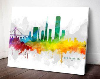 San Francisco San Francisco city San Francisco by Uniquedrawing