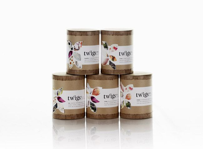 Packaging of the World: Creative Package Design Archive and Gallery: Twigs Plant Boutique
