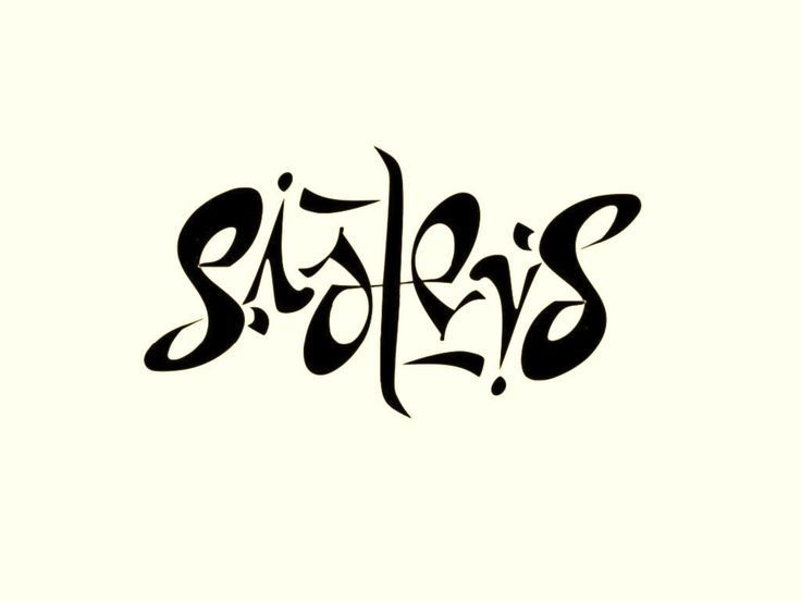 25 trending ambigram tattoo ideas on pinterest sister tat depression tattoo and simple guy. Black Bedroom Furniture Sets. Home Design Ideas