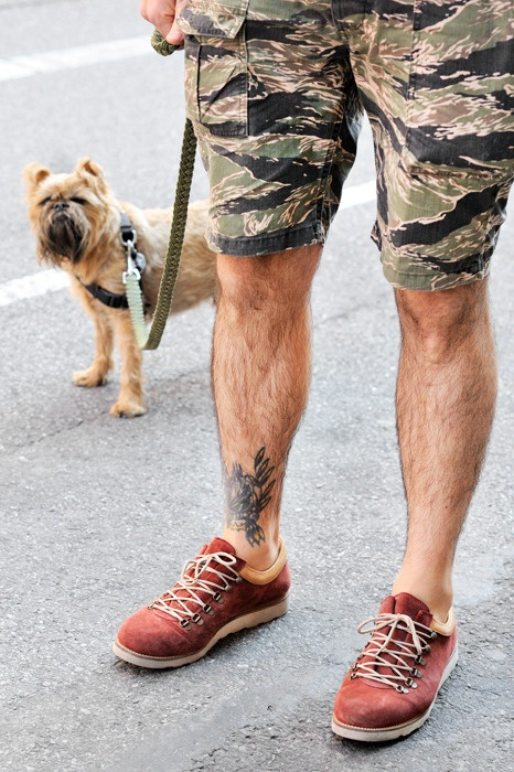 NYC!!!!  Loving this picture!  Hope we get to meet one of these days.  janreichle:    Herci & me in NYC  http://monsieurjerome.comPost, Men Tattoo, Men Style, Camouflage Fashion, Men Shoes, Tattoo Style, Camo Shorts, Shorts Camoshort, Men Wear