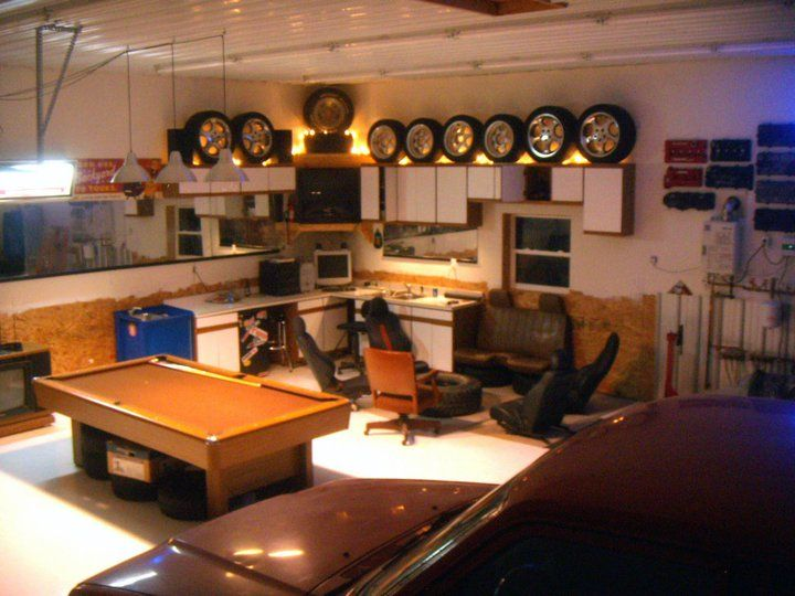 Ultimate Man Cave Store : Pole barn shop man cave the garage journal