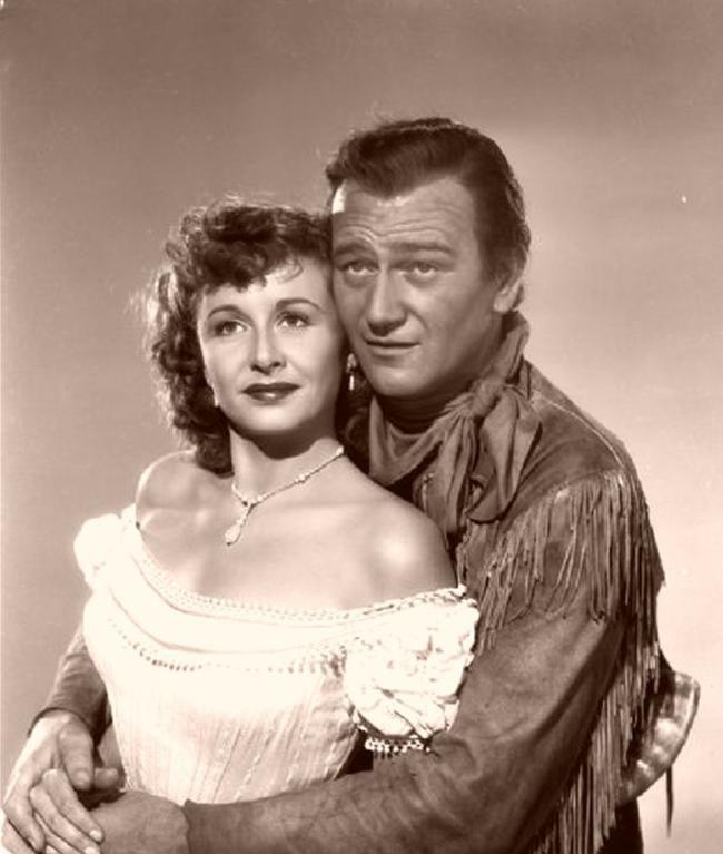 Vera Ralston & John Wayne