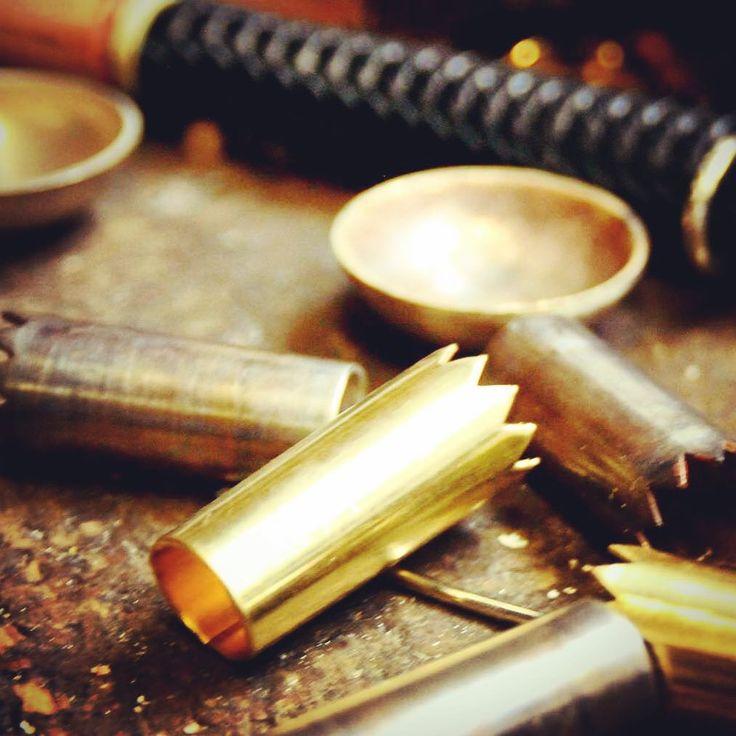 Matière brute #artisan #travailmanuel #argent #laiton #silver #copper #handmade