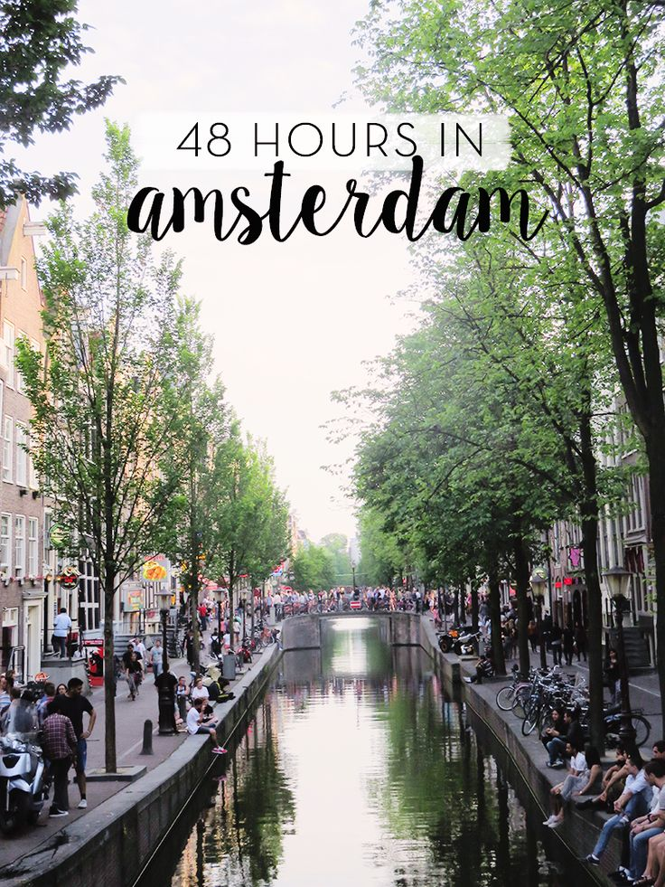48 Hours in Amsterdam | Sunday Chapter