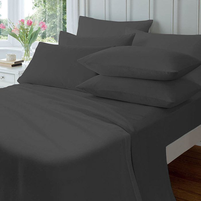 Jenny Mclean Egyptian Cotton Flannelette Sheet Set  Getting to sleep can be difficult on winter nights. You're either too cold to get any shut-eye or you're stuck stiff under so many blankets. Forget about piling on another doona what you need is ultra-warm flannelette sheets.  The Flannelette Sheet Set cotton has been brushed and the fibres have been loosened making it warmer and softer than standard cotton. This technique is what makes flannelette feels so good and it's the reason why it…