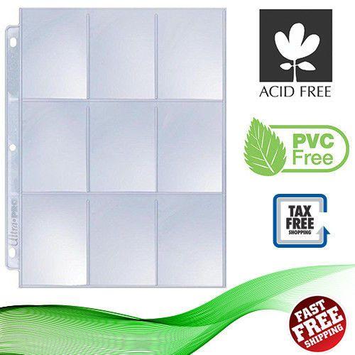 25 Pages Card Album Binder 9 Pocket Plastic Protector