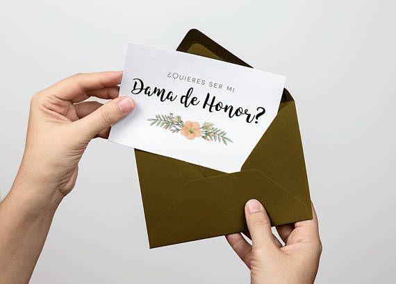 Quisieras ser mi dama de honor, dama de honor, serias mi dama de honor, tarjetas, invitaciones, maid of honor spanish, bridesmaid, printable    #dama #damadehonor #tarjetasdamadehonor #tarjetasdamahonor #tarjetas #imprimibles #madrinadehonor #bridesmaid #inspanish #enespañol #printables #español #spanish #maidofhonor #printablecards #boda #ceremonia #juegos #despedida #soltera #tarjetas #diseñosbonitos