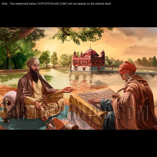 Guru Arjan Dev Ji Detail1