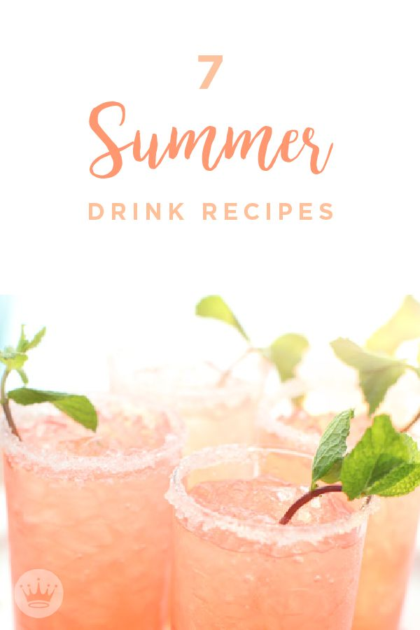 Beat The Heat With These 7 Refreshing Summer Drink Recipes