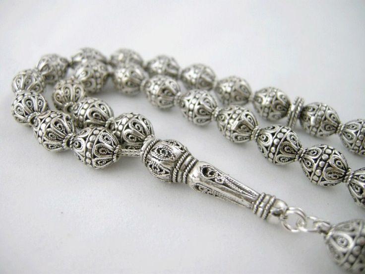 Silver Prayer Beads