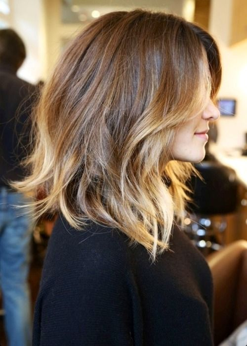 I like the blonde bits - might be doable even with my allergy of hair dye