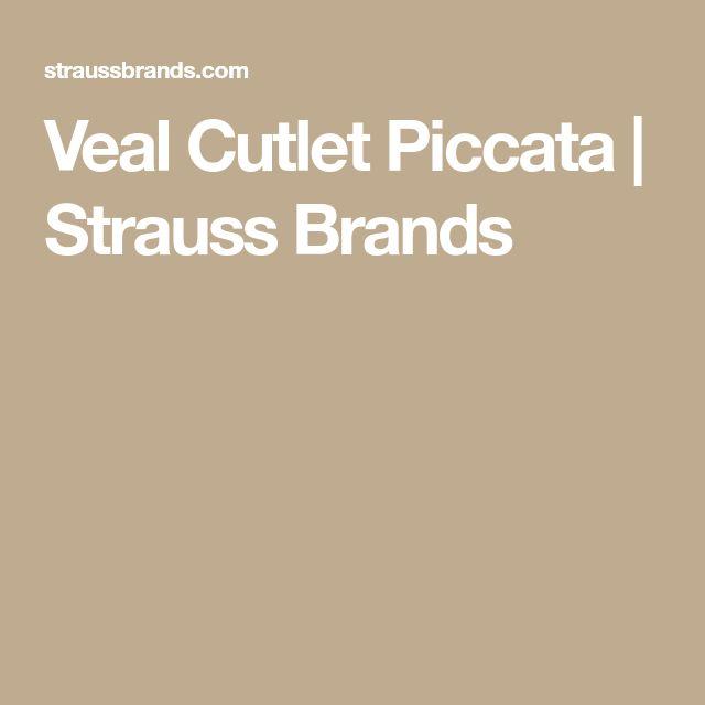 Veal Cutlet Piccata | Strauss Brands