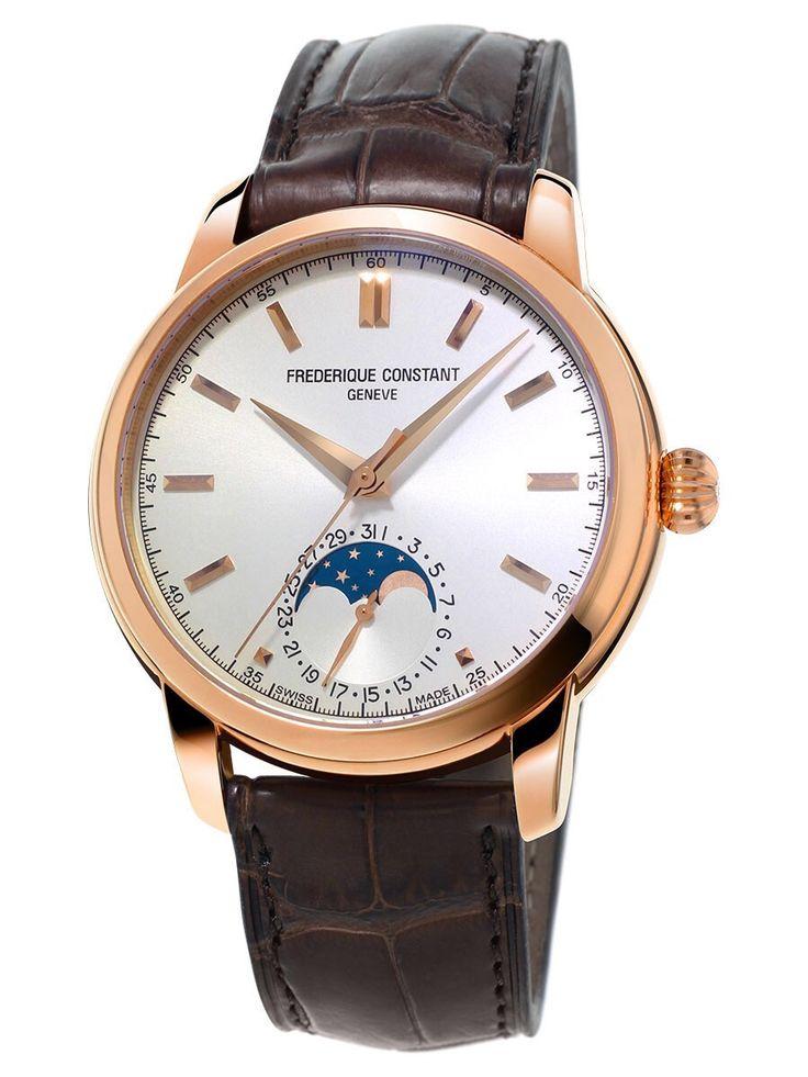 Frederique Constant Classic Moonphase dress watch