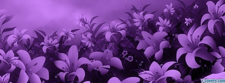 flowers abstract 28 facebook cover
