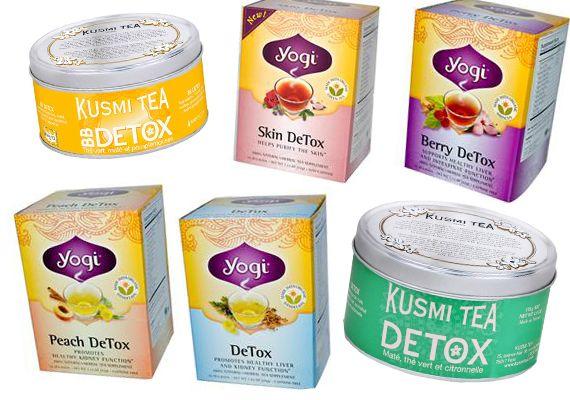 Детокс-чай марок Kusmi Tea и Yogi Tea