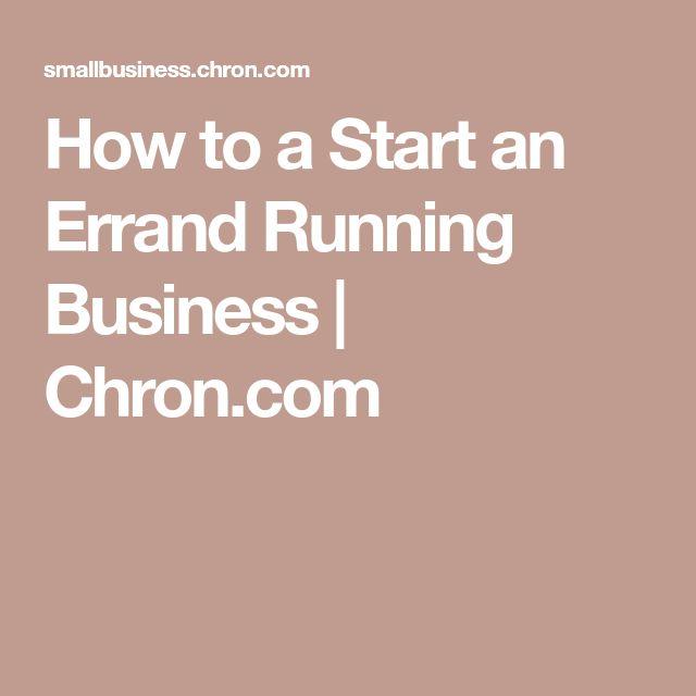 How to a Start an Errand Running Business | Chron.com