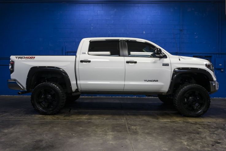 LIFTED White/Black 2015 Toyota Tundra SR5 4x4 Truck For Sale At Northwest Motorsport