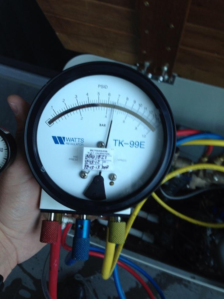 New Differential Pressure Gauge Watts TK-99