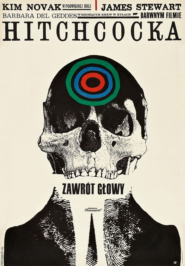 """""""45 Amazing Vintage Polish Posters Of Classic American Films. These beautiful and surreal pieces of movie artwork were created during the communist-era as an alternative to banned U.S. publicity material."""""""