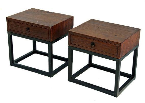 Best Wood And Metal Nightstand From Terra Nova Designs By 640 x 480