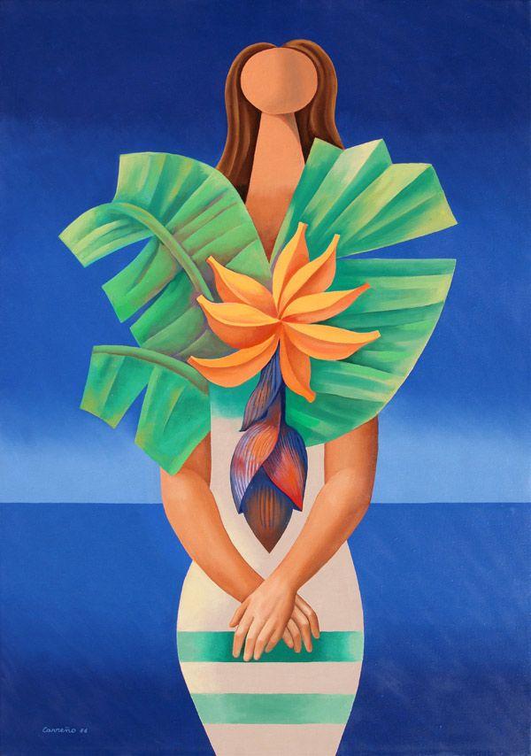 Mario Carreno- Chiquita Banana - Cernuda Arte