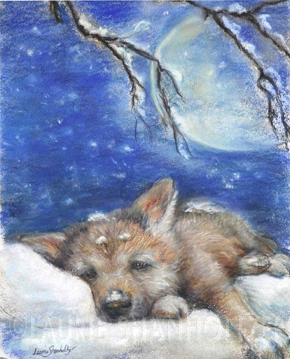 wolf cubs in snow wallpaper - photo #29