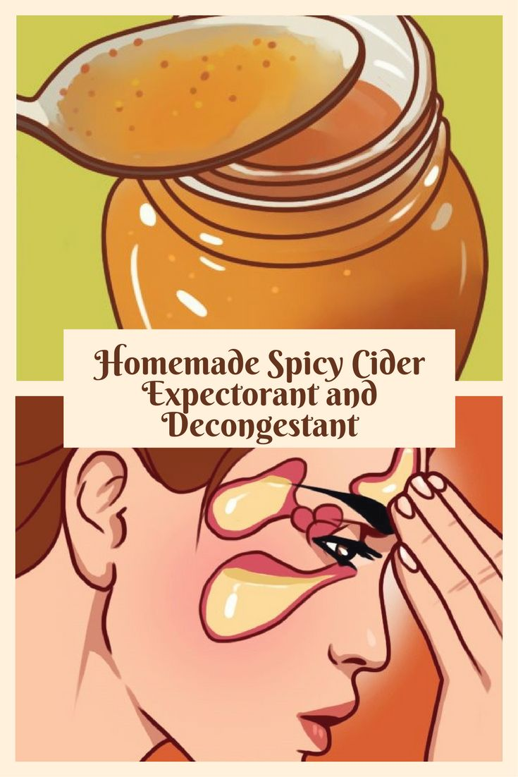 Homemade spicy cider expectorant and decongestant - Congestion is the worst. Here are some home remedies for DIY expectorants and decongestants to clear even the most irritating of symptoms.