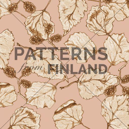 Treetop – Fall by Ilana Vähätupa   #patternsfromagency #patternsfromfinland #pattern #patterndesign #surfacedesign #ilanavahatupa