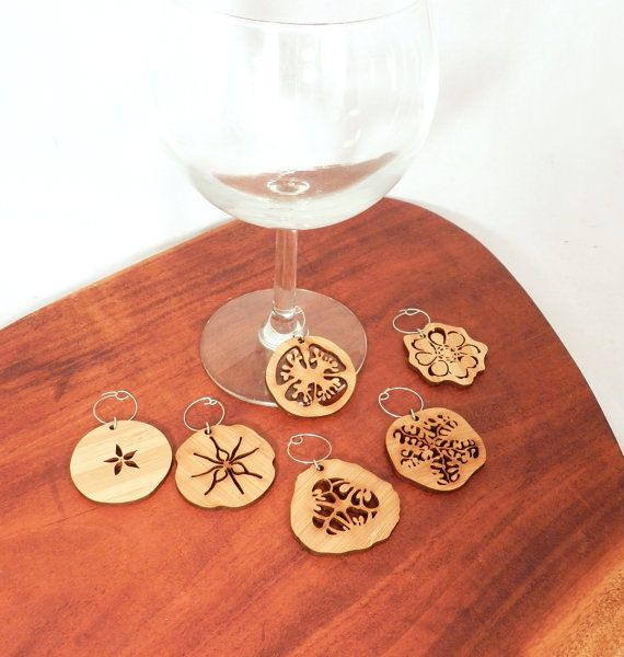 Fruit Slice Wine Charms