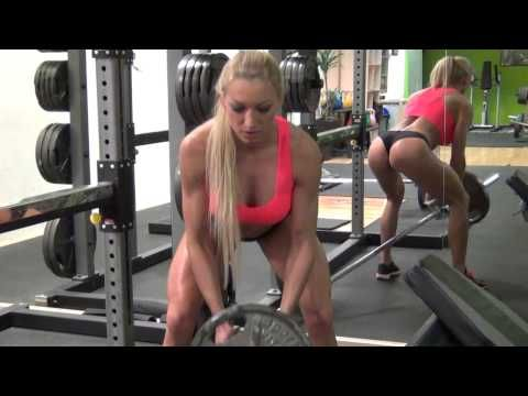 FEMALE BODYBUILDING AND FITNESS MOTIVATION - NAJA CORIC - YouTube