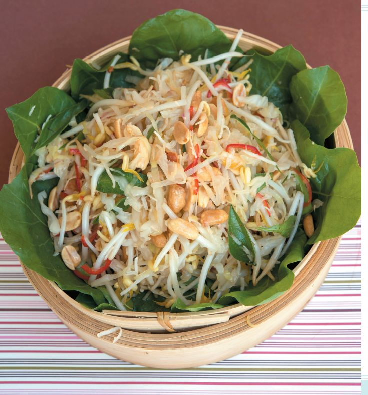 Balinese Cabbage and Coconut Salad