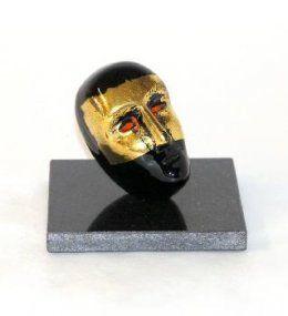 Bertil Vallien - Glaskonst - Limiterat Brain on stone Svart/Guld Beställ här! Klicka på bilden.