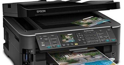 Epson WF-635 Driver Download