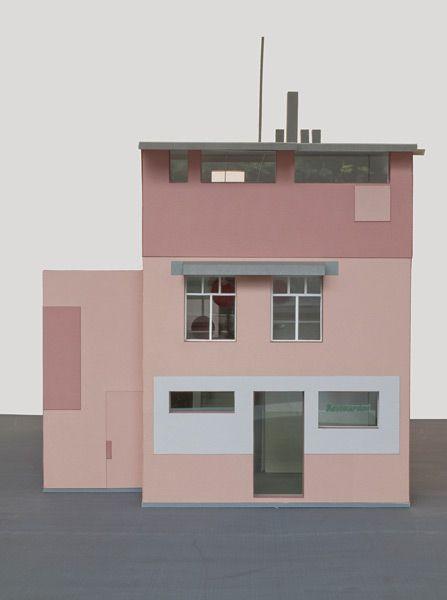 Caruso St John / Thomas Demand; Nagelhaus, Escher-Wyss-Platz, Zürich.   Wettbewerb, 1. Preis, 2008