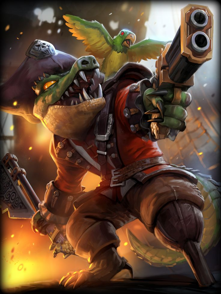 Smite - Sobek High Seas