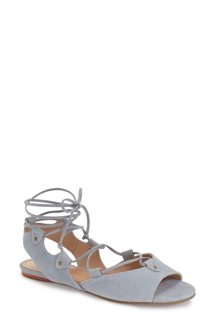 Bernardo Footwear Olivia Lace-Up Sandal (Women)