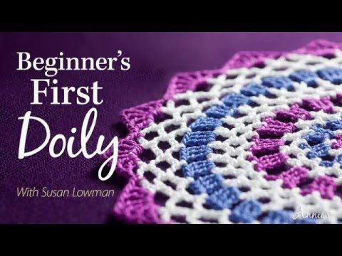 Learn How to Crochet a Doily with Annies Online Classes, My Crafts and DIY Projects