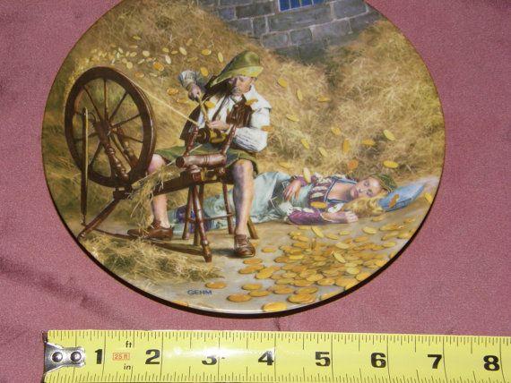 RUMPELSTILZCHEN Collectors Plate Grimms Fairy by GrannysCabinet