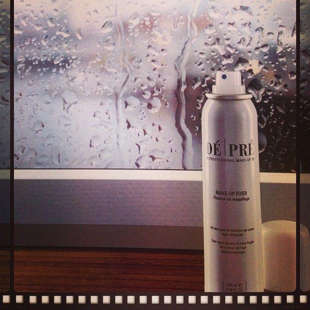 Rainy Day? Make your look last with #makeupfixer! #makeup #makeupstudionl #fixer #longlasting #artofmakeup #depre