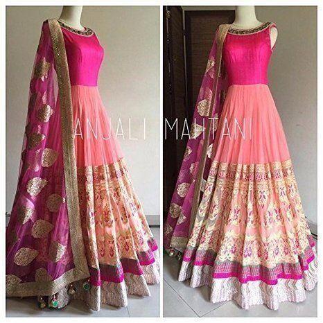 BHANDERI ENTERPRISE-Pink Color Georgette Salwar Kameez - SamiraFlower