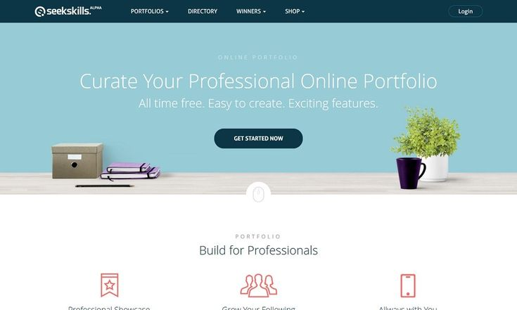 Create Free Online Portfolio Websites