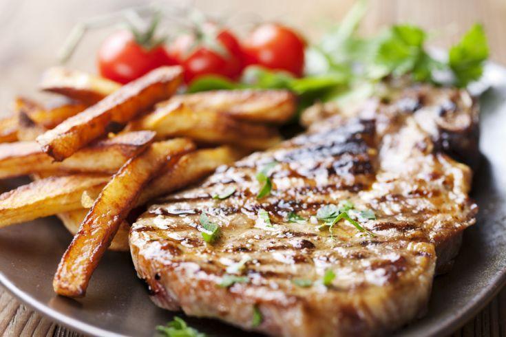 Bravčový steak * horčica