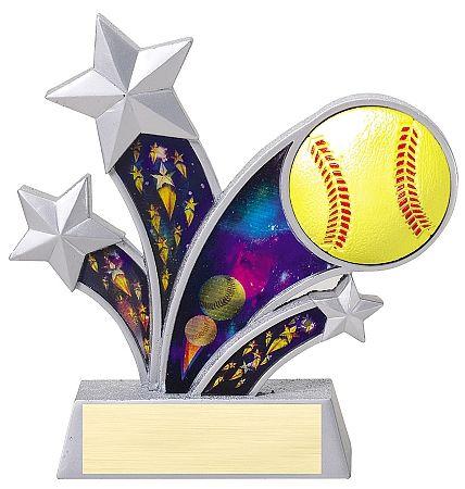 Rising Star Softball Trophy