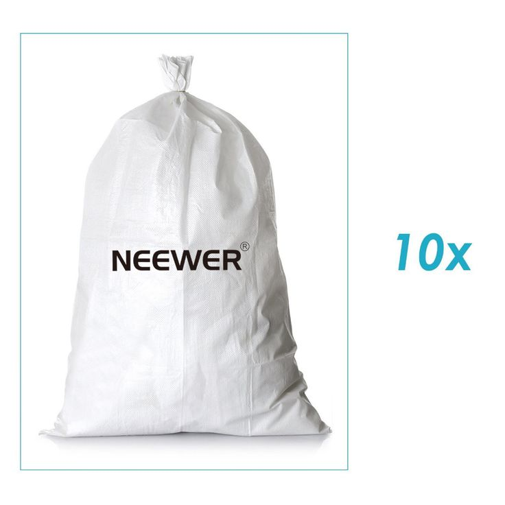 ">> Click to Buy << Neewer 10 Pack 10""x6""/26cmx15cm Empty White Woven Polypropylene Sandbags UV Coating Protection for Flood Protection/Construction #Affiliate"