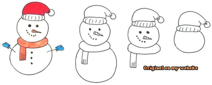 Kunst Zeichnungen Snowman Doodle Artdrawings Artdrawingsdark Artdrawingsgirl Artdrawingssimple Christmas Doodles Bullet Journal Doodles Simple Doodles