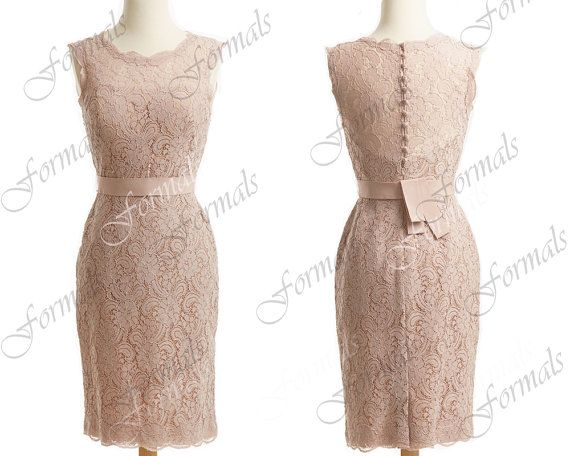 Lace wedding dresses skin pink lace pencil dresses lace for Pencil dress for wedding