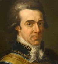 Axel von Fersen, a Swedish noble man. Said to be the French Queen Marie Antoinette's lover and her truthful admirer. He planned the escape for the French royal family that was stopped in Varennes before they arrived to Brussels where von Fersen waited. He never married for reasons that he explained in a letter: 'I don't intend to marry./.../ I'm not able to belong to the only woman I ever wanted, the only one who really loves me and therefore I will not bound myself'