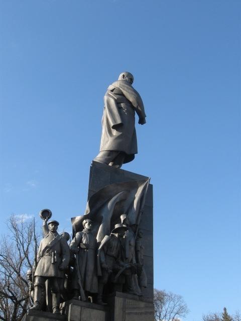 Shevchenko monument, Kharkiv.