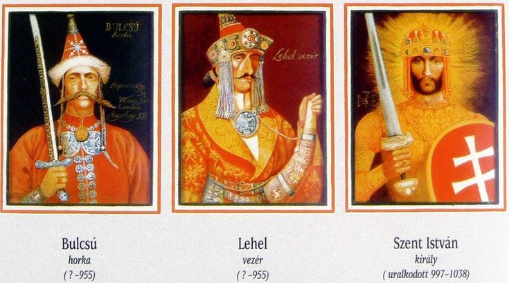Hungarian leaders and king